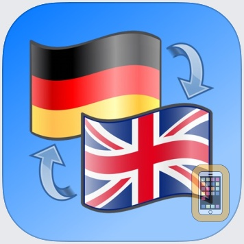 English-German dictionary, Nifty Words by Dieter Saken (iPhone)