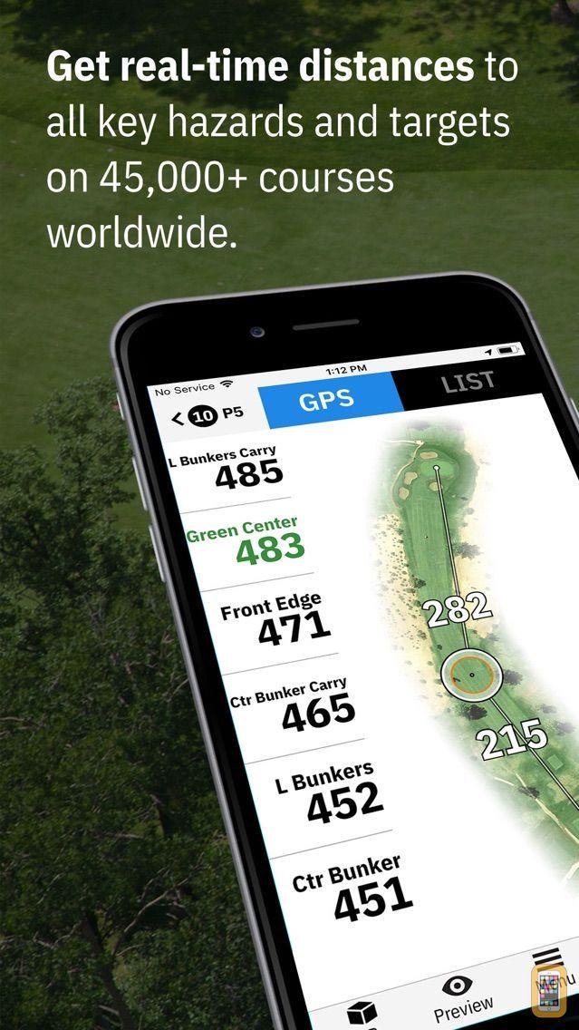Screenshot - Golfshot Plus: Golf GPS + AR