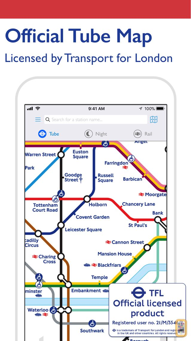 Screenshot - Tube Map - London Underground