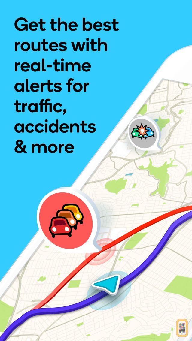 Screenshot - Waze Navigation & Live Traffic