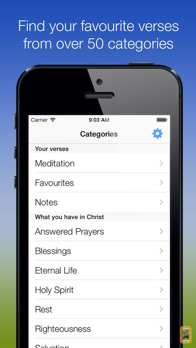 Screenshot - Bible Verses: Living Word