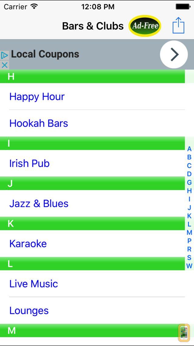 Screenshot - Bar & Happy Hour Finder: Find Your Nearest Bars