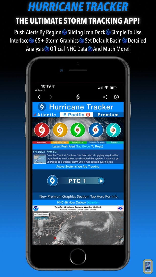 Screenshot - Hurricane Tracker