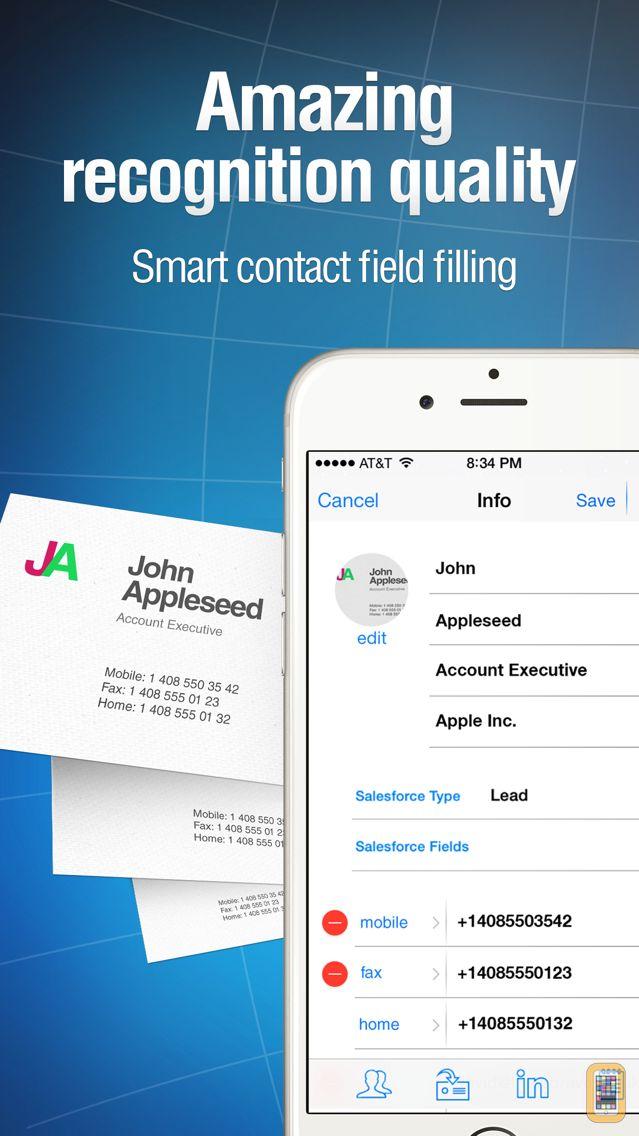 Screenshot - Business Card Reader Pro