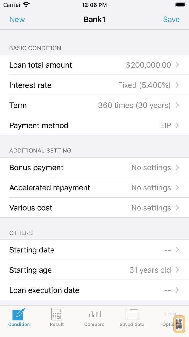 Screenshot - iLoan Calc (Loan calculator)