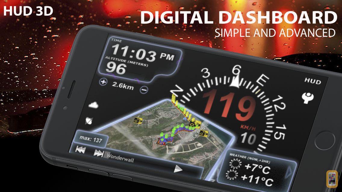 Screenshot - aSmart HUD 3D +SpeedCams