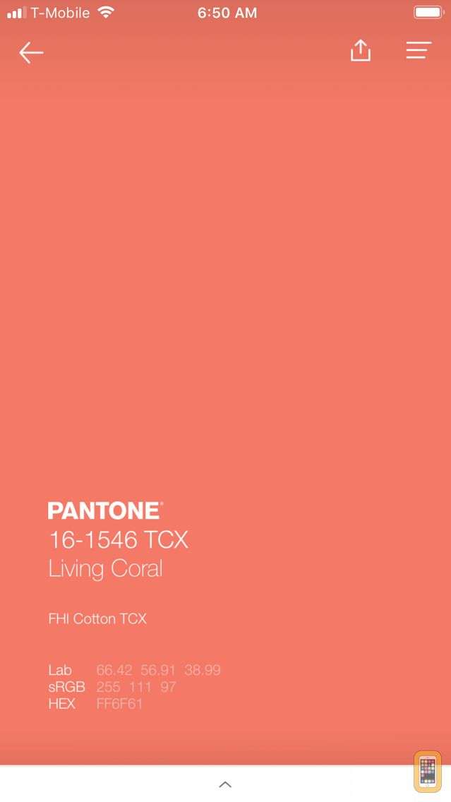 Screenshot - PANTONE Studio