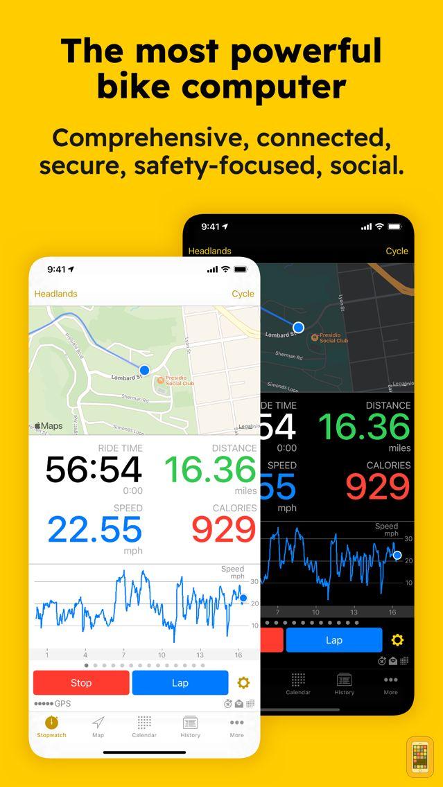 Screenshot - Cyclemeter Cycling Running GPS