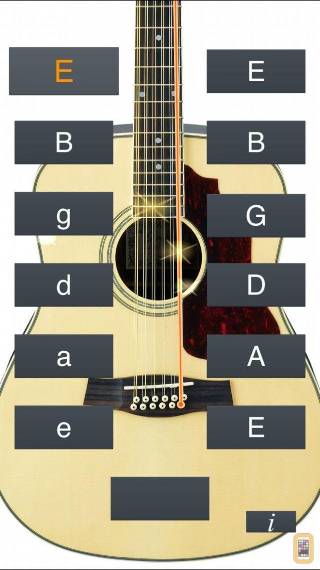 Screenshot - 12-String Guitar Tuner Simple