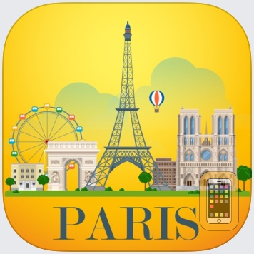 Paris Travel Guide Offline by Maria Monti (Universal)