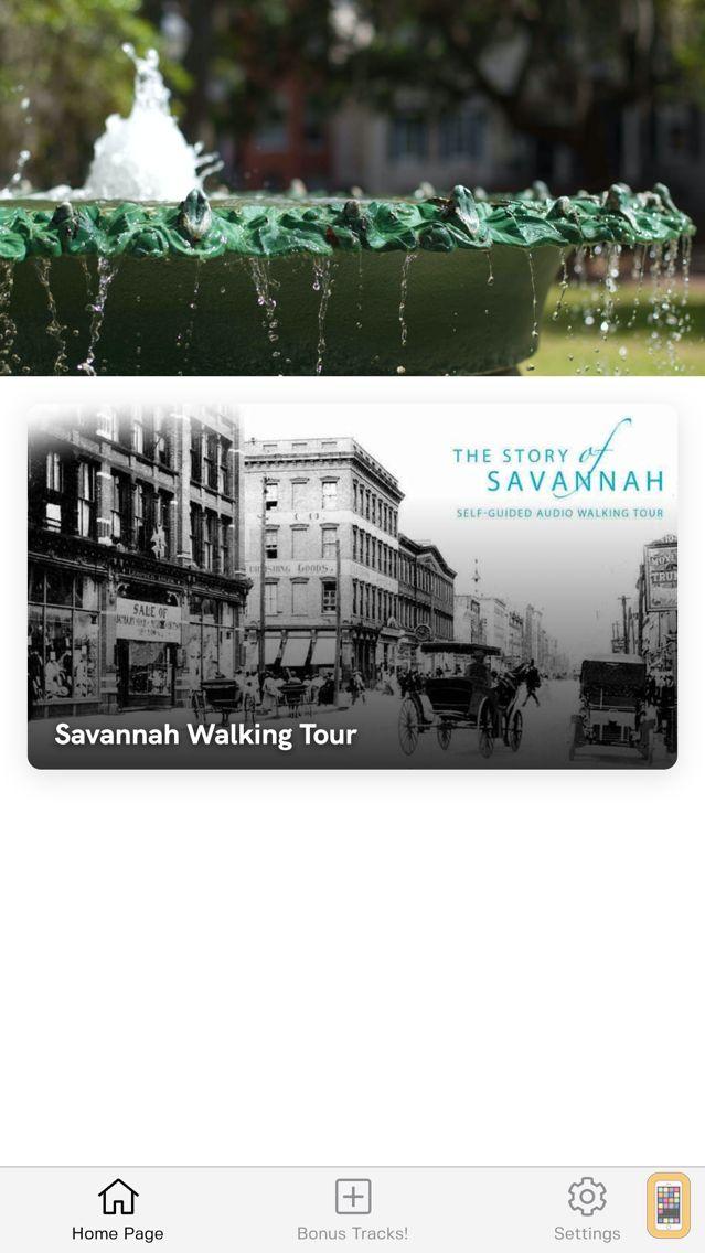 Screenshot - Savannah Walking Tour