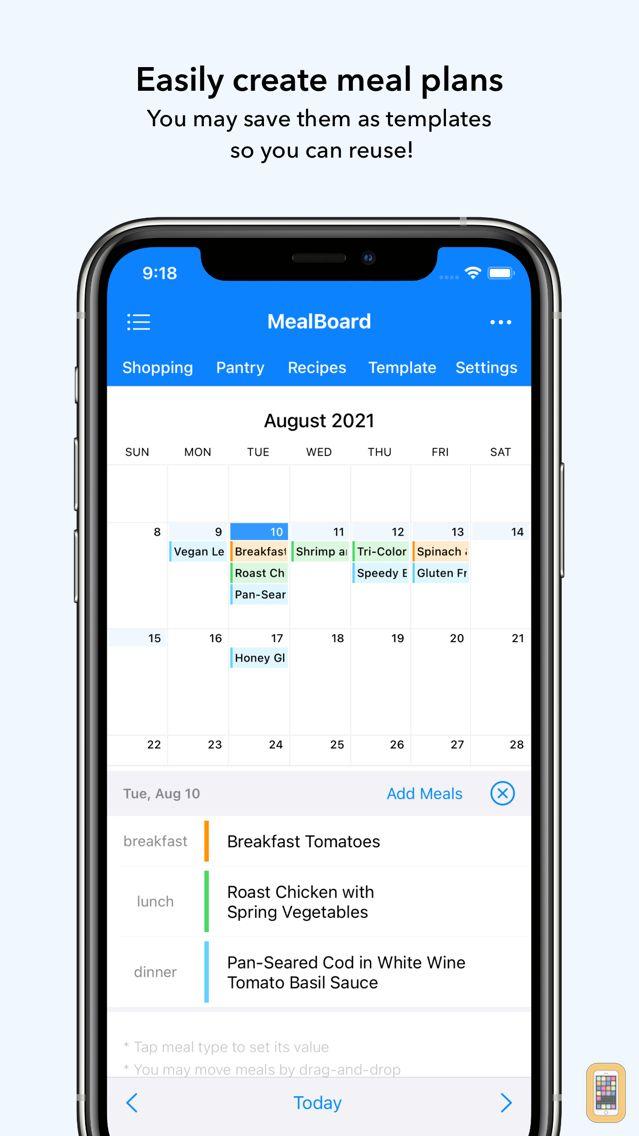 Screenshot - MealBoard