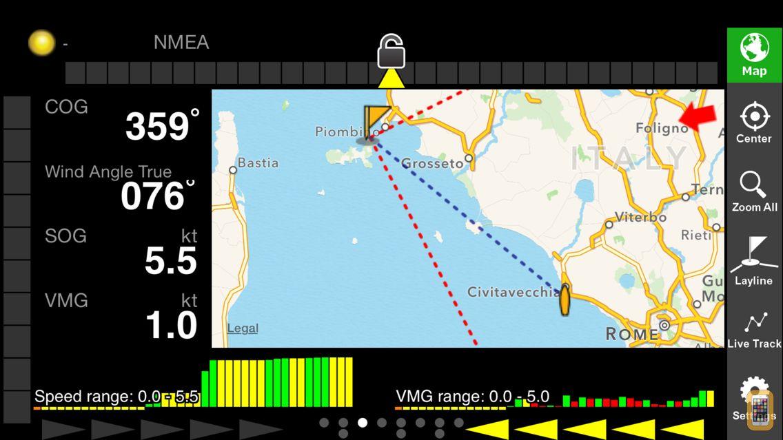 Screenshot - iRegatta Pro