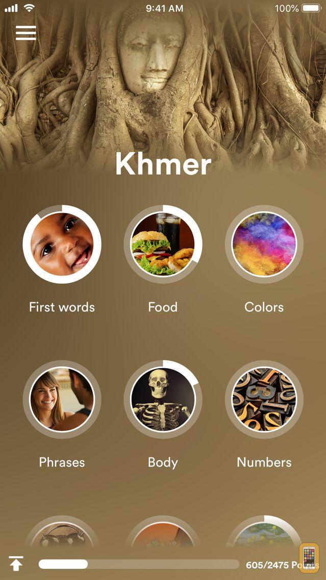 Screenshot - Learn Khmer - EuroTalk