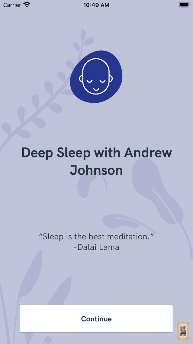 Screenshot - Deep Sleep with Andrew Johnson