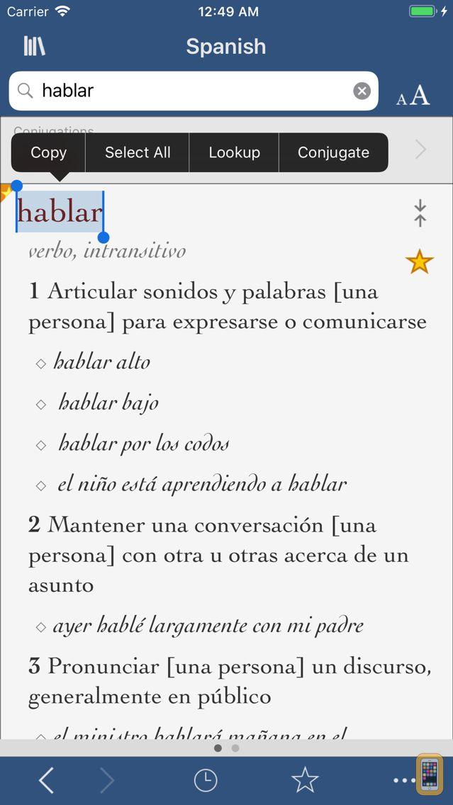 Screenshot - Vox Comprehensive Spanish