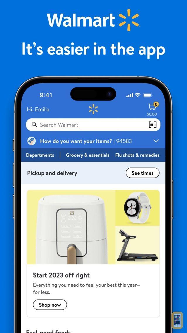 Screenshot - Walmart – Shopping and Saving