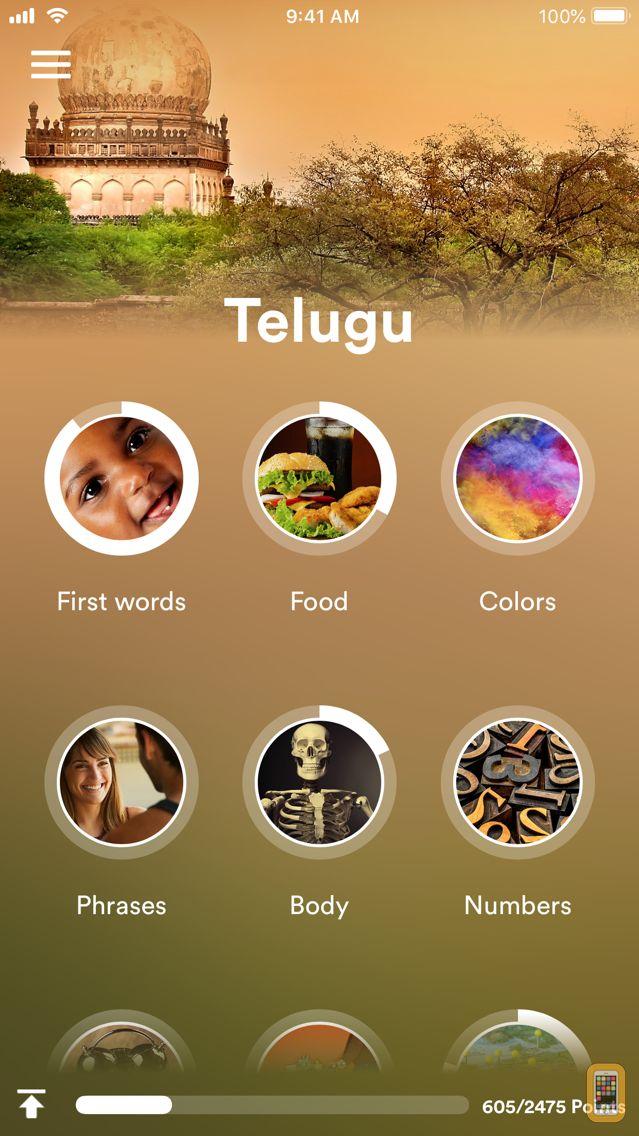 Screenshot - Learn Telugu - EuroTalk