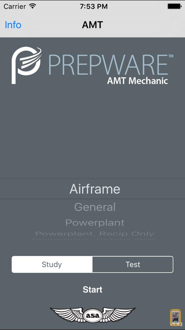 Screenshot - Prepware Aviation Maintenance