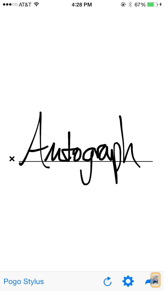 Screenshot - Autograph