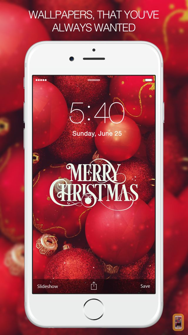 Screenshot - Christmas Wallpapers - Xmas tree, cards, light, santa & more Images