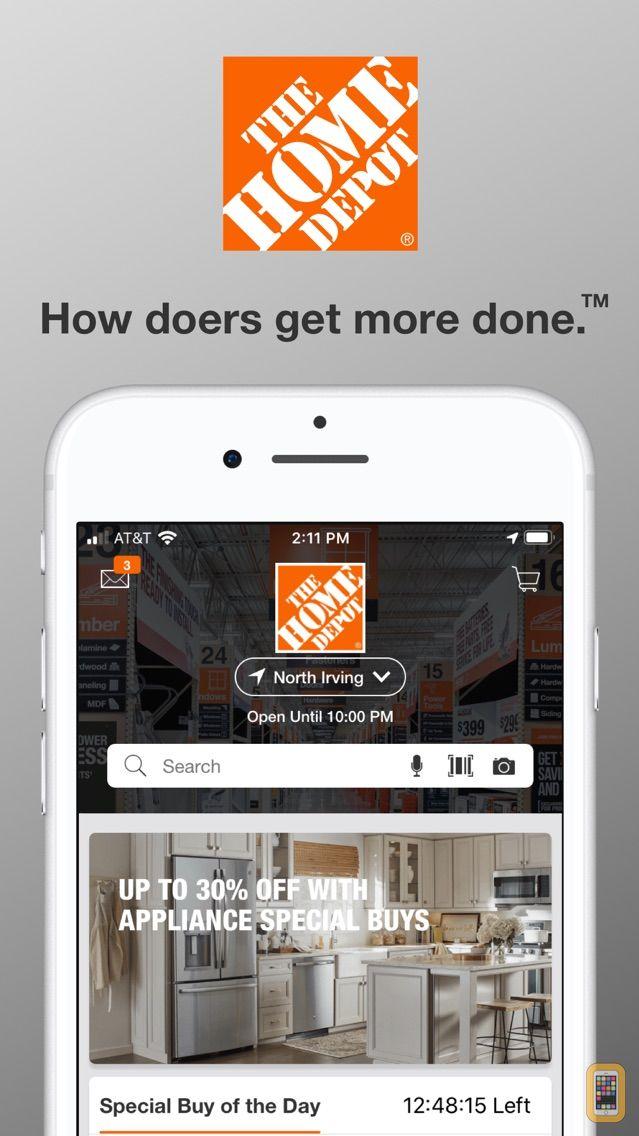 Screenshot - The Home Depot