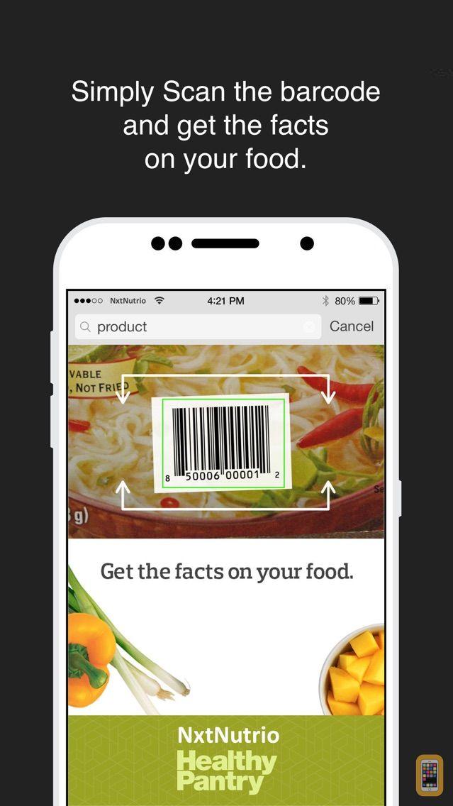 Screenshot - Healthy Pantry & Allergy, GMO Scanner NxtNutrio