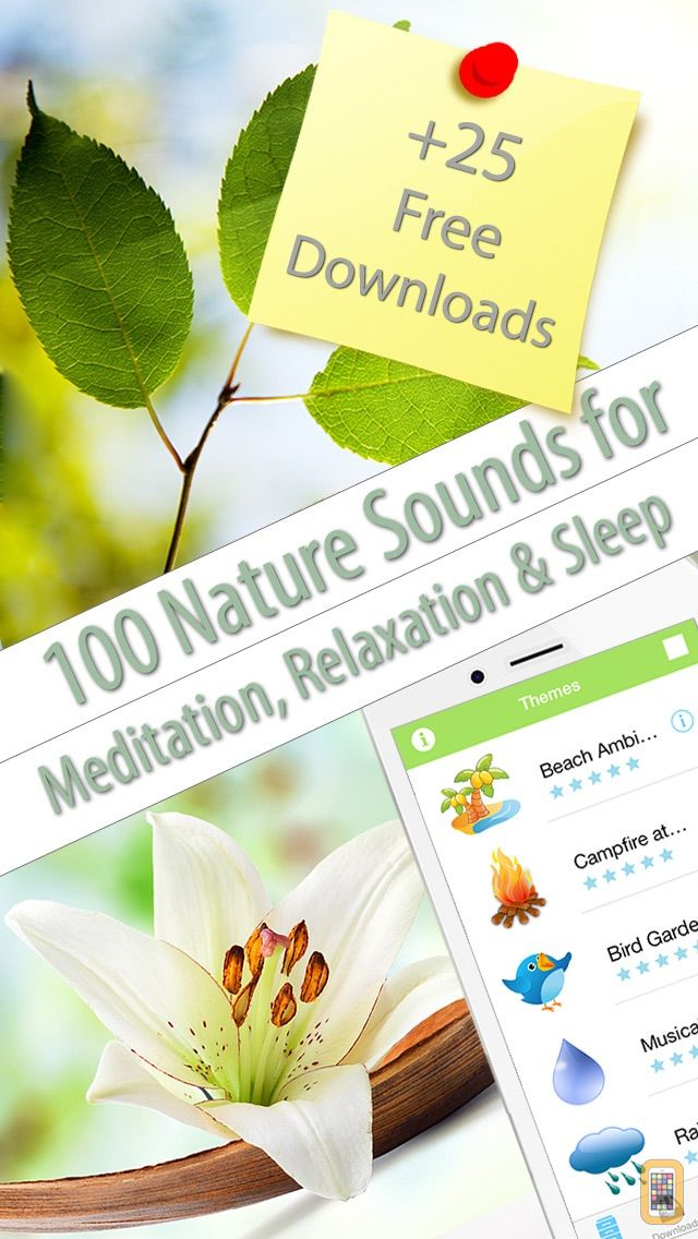 Screenshot - Relaxing Nature Scenes (helps to relax, meditate, sleep and yoga)
