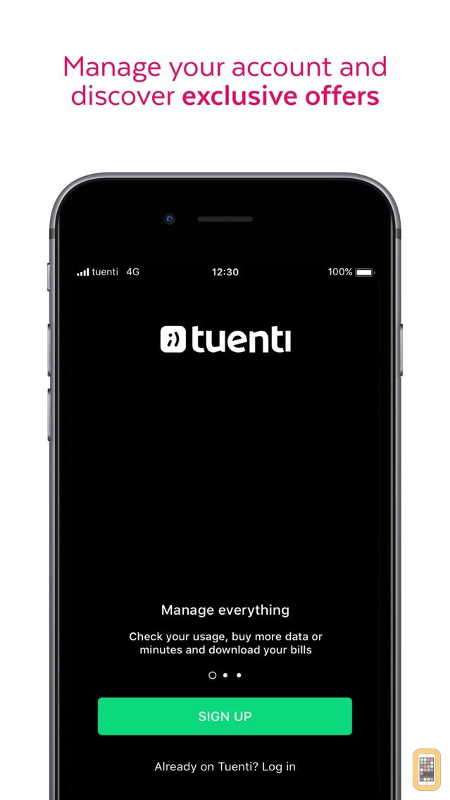 Screenshot - Tuenti: phone with superpowers
