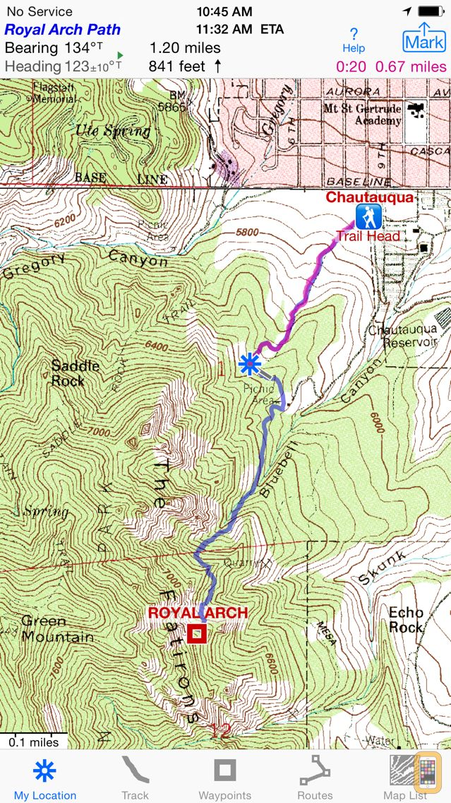 Screenshot - i Hike GPS : Topo Maps
