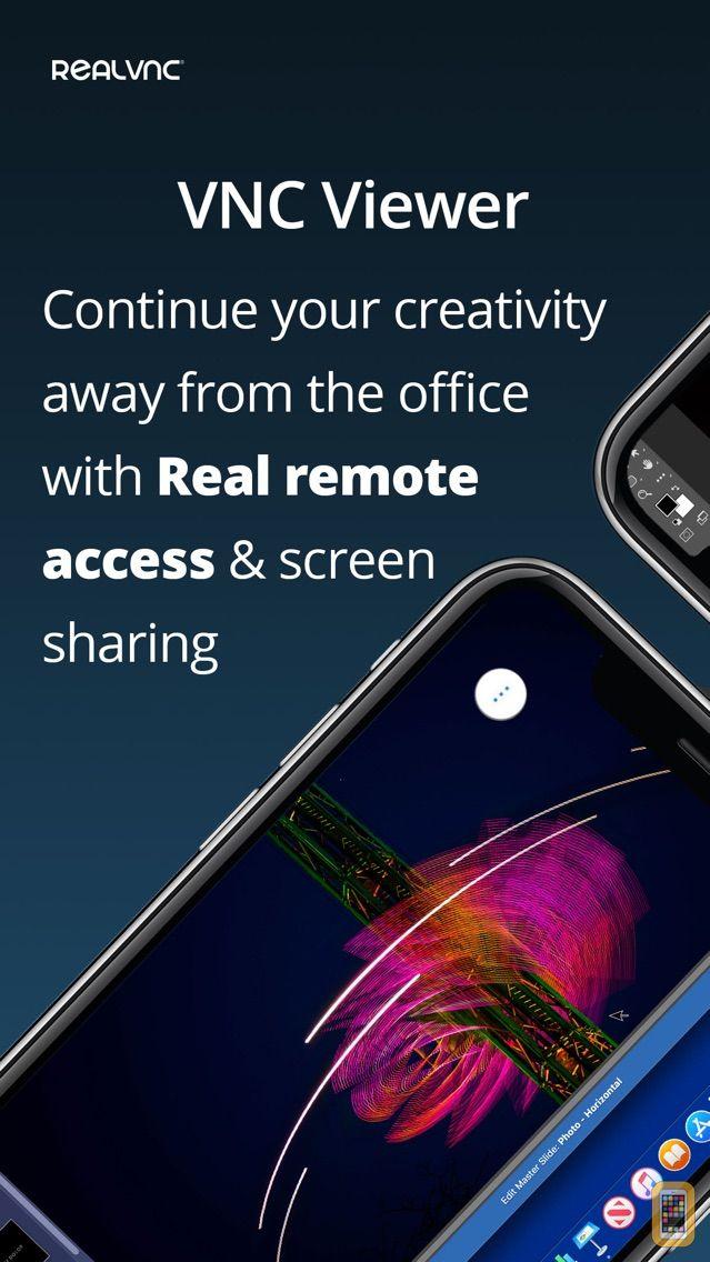 Screenshot - VNC Viewer - Remote Desktop
