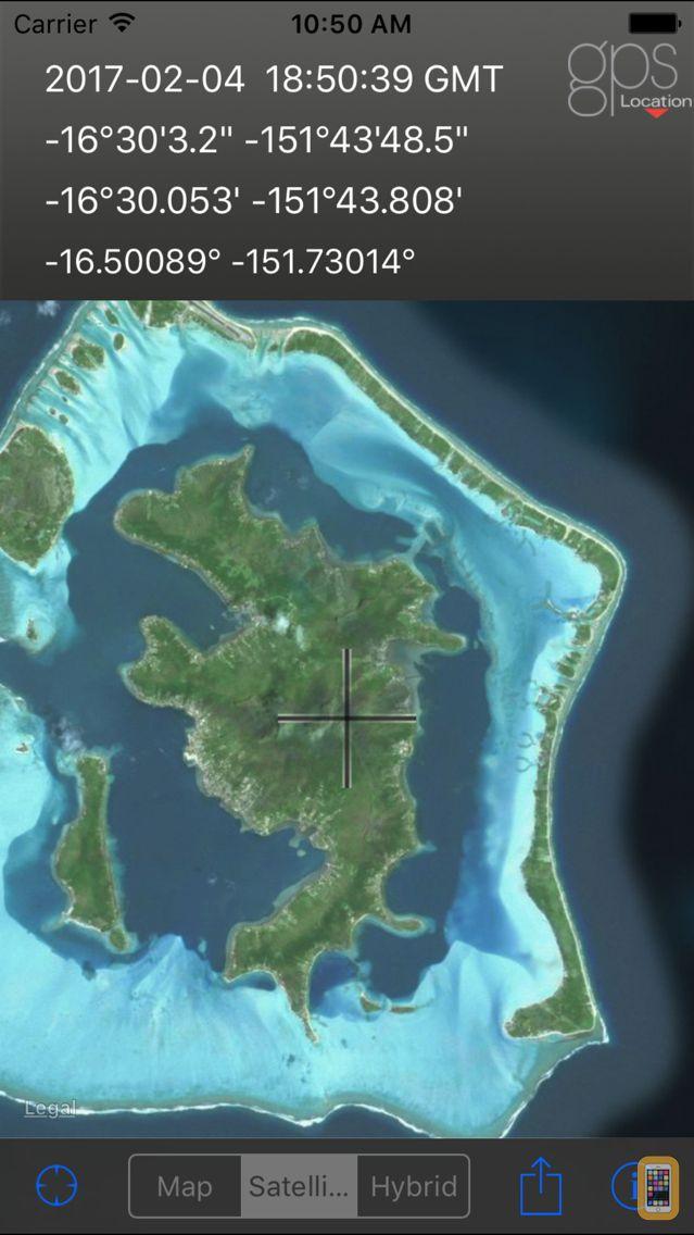 Screenshot - GPS Location