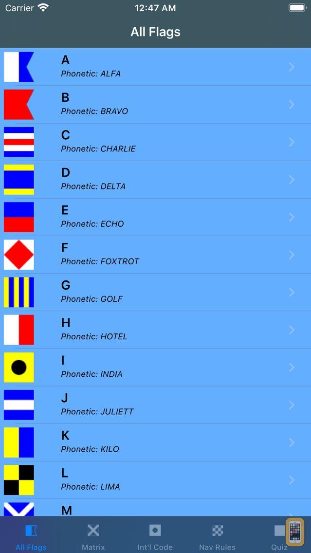 Screenshot - Signal Flags