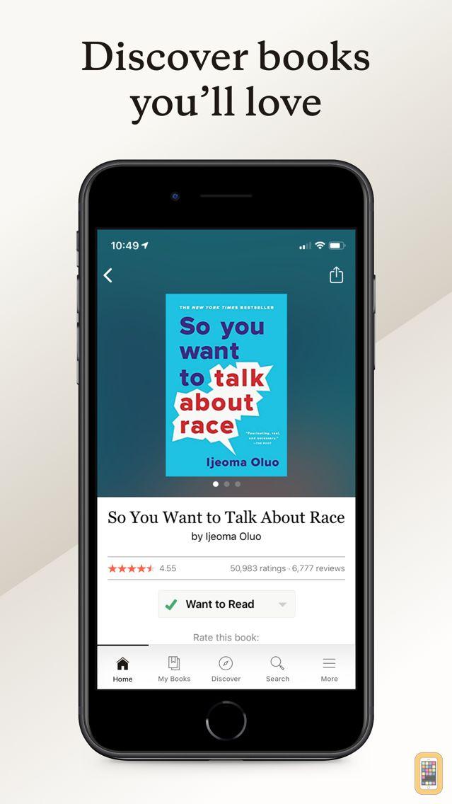 Screenshot - Goodreads: Book Reviews