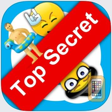 Secret Smileys for Skype - Hidden Emoticons for Skype Chat - Emoji by Emoji Apps GmbH (Universal)