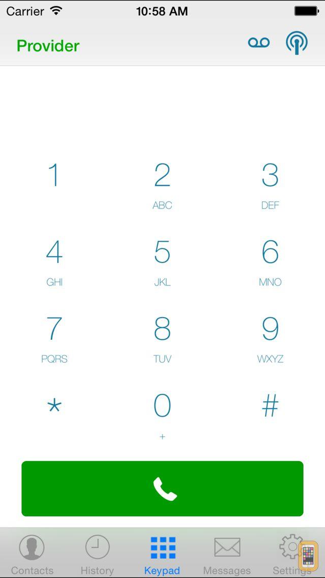 Screenshot - SessionTalk Pro Softphone