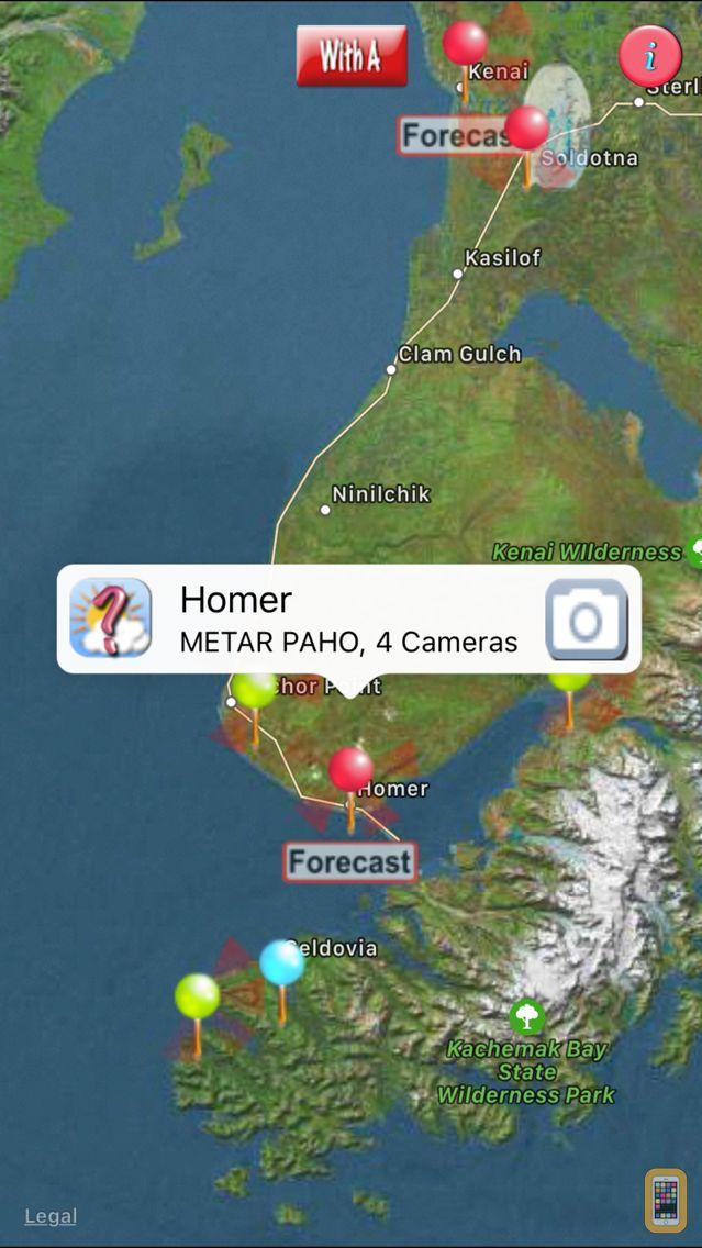 Screenshot - AKAvCAMsLt- FAA weather camera