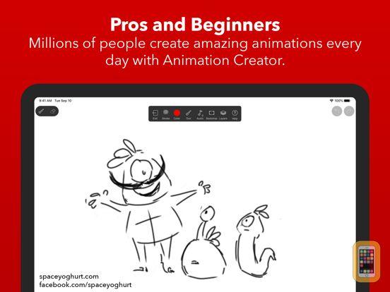 Screenshot - Animation Creator HD