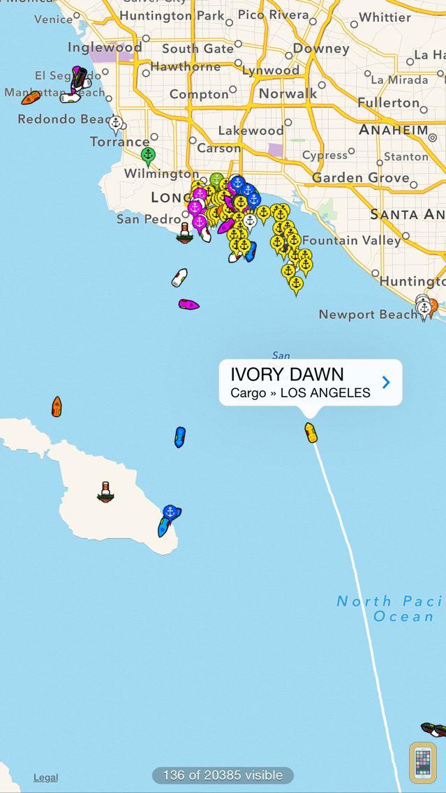 Screenshot - Ship Finder