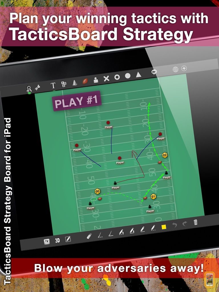 Screenshot - TacticsBoard HD for Coaches of 22 Sports