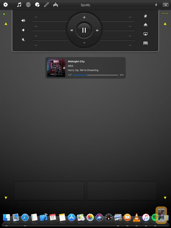 Screenshot - Mobile Mouse - iPad Edition