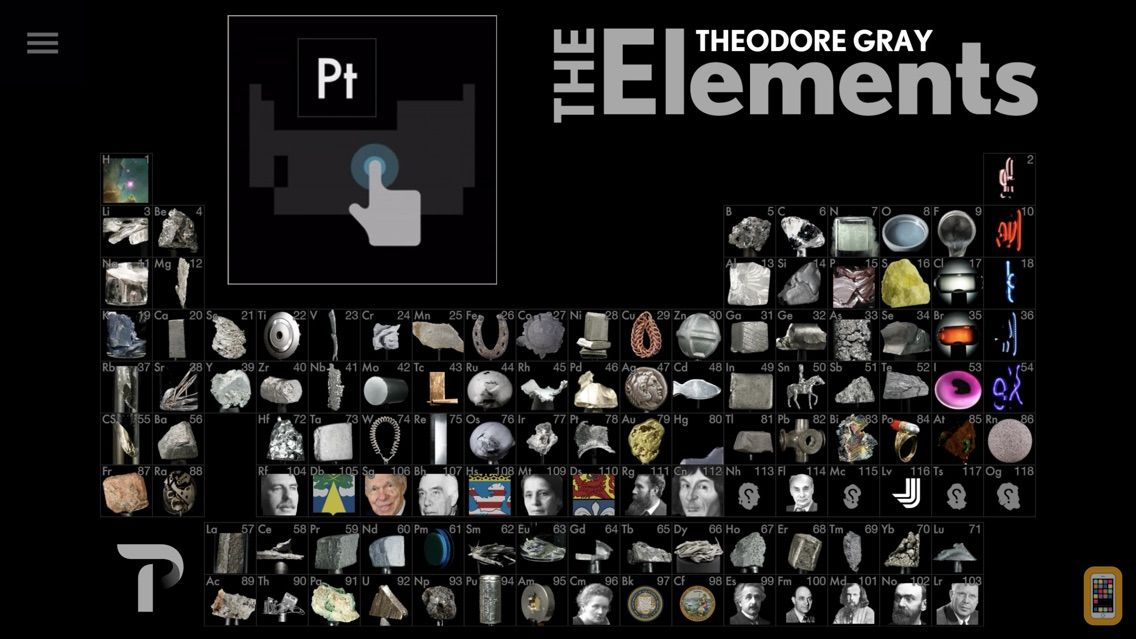 Screenshot - The Elements by Theodore Gray