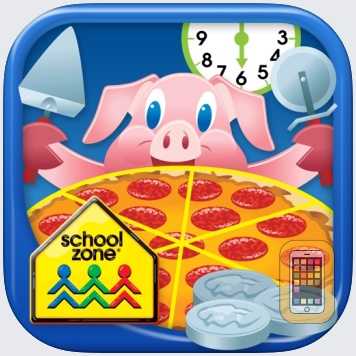 Time, Money & Fractions On-Track by School Zone Publishing (iPad)
