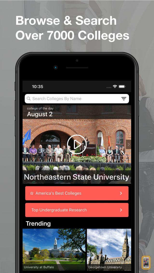 Screenshot - College Search Guide