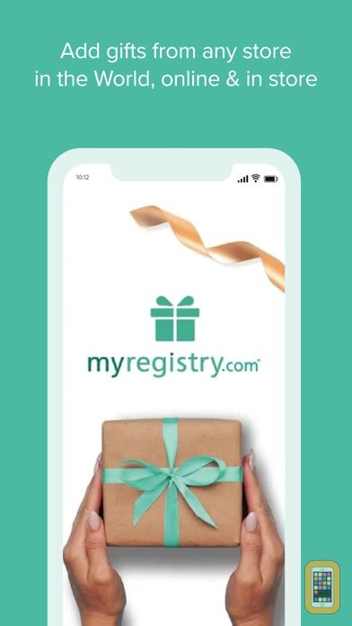 Screenshot - MyRegistry.com Universal Wishlist with Barcode Scanner