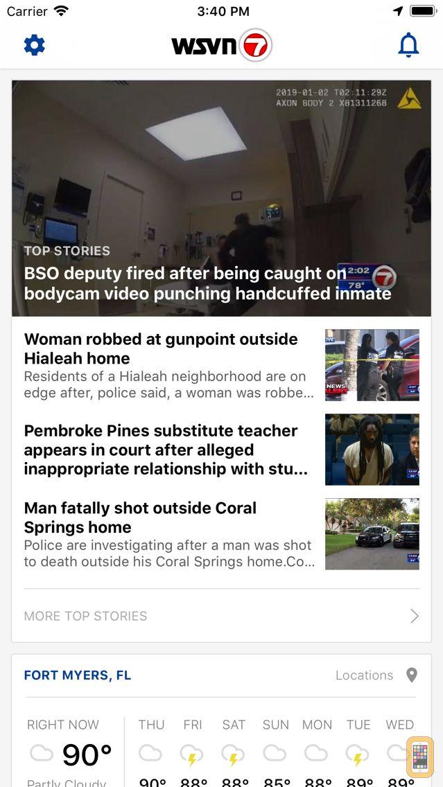Screenshot - WSVN - 7 News Miami
