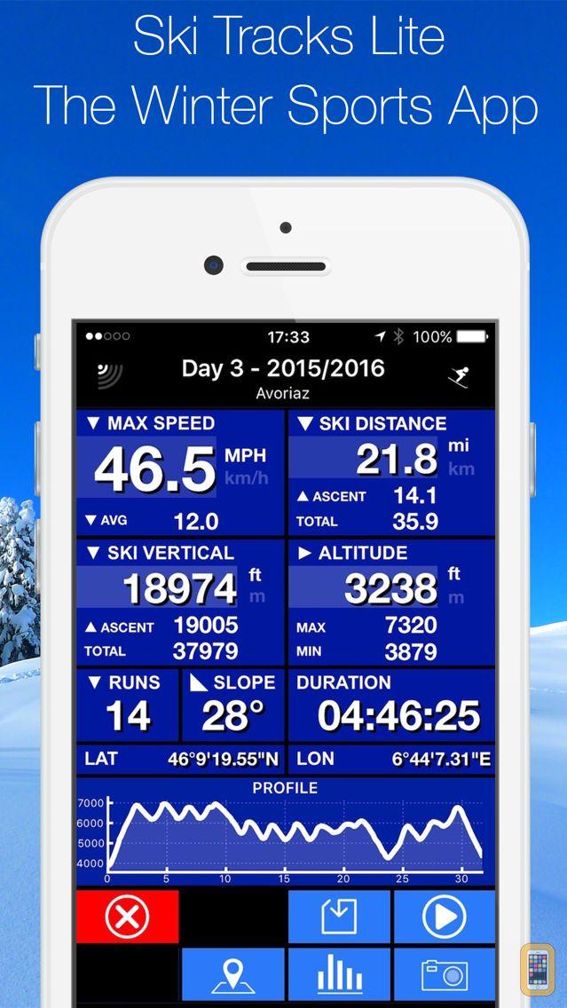 Screenshot - Ski Tracks Lite