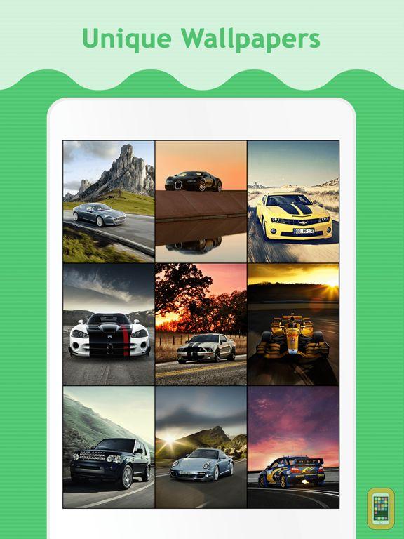 Screenshot - Car Wallpapers & Backgrounds for iPad
