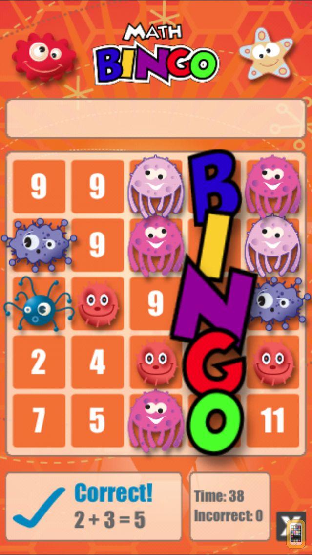 Screenshot - Math Bingo