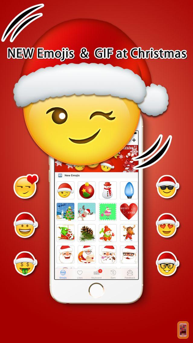 Screenshot - Emoji Added - Christmas Emoji